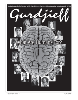 The Gurdjieff Journal #71